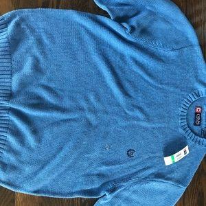 Men's chaps sweater